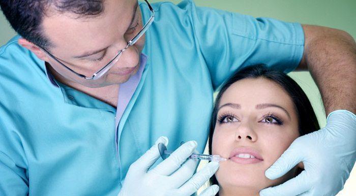تزریق بوتاکس در صورت
