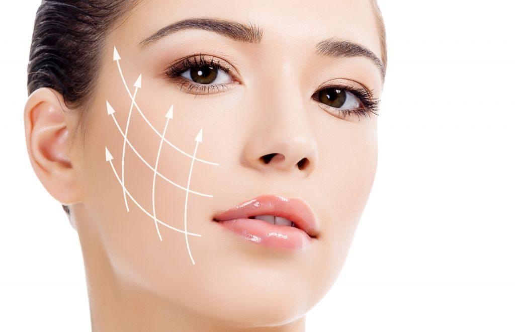 می توان شلی و افتادگی پوست و عضلات صورت را با روش لیفت با نخ کاگ رفع کرد.