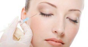 تزریق بوتاکس در صورت به منظور از بین بردن شل شدگی پوست و چین و چروک ها