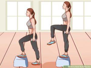 ورزش کردن برای افزایش سایز باسن
