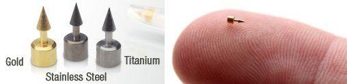 سورن طلا و نقره برای طب سوزنی گوش و لاغری و کاهش چربی بدن