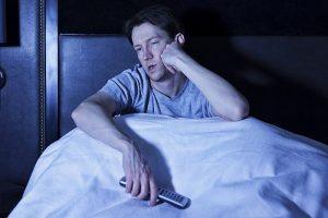 بی خوابی در شب