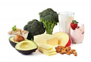 غذاهای حاوی کلسیم برای پوکی استخوان