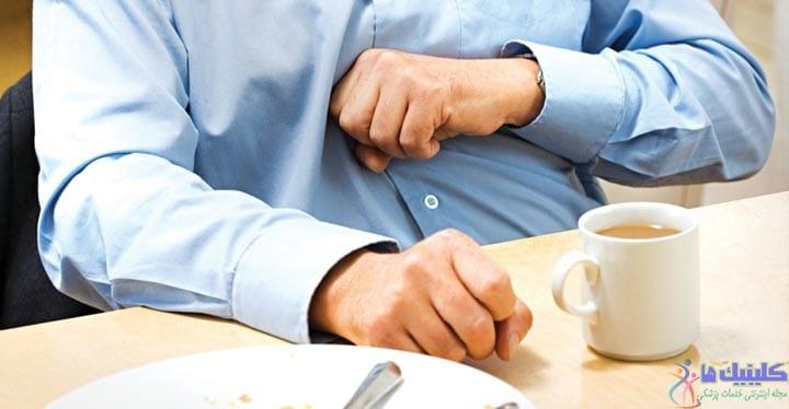 درمان رفلاکس معده-رفلاکس مری یا برگشت اسید معده به مری