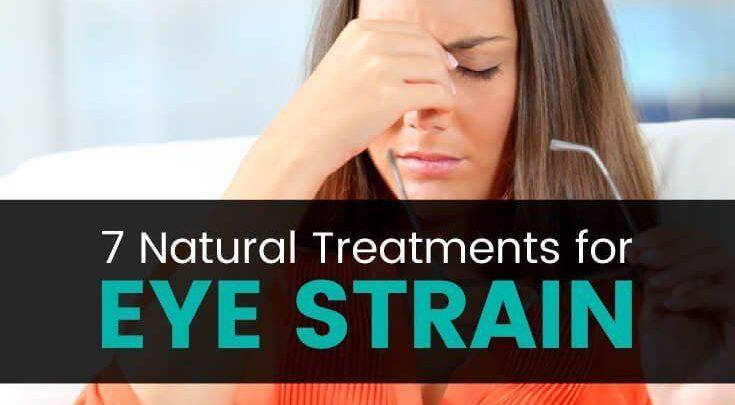 7 روش درمان فشار چشم
