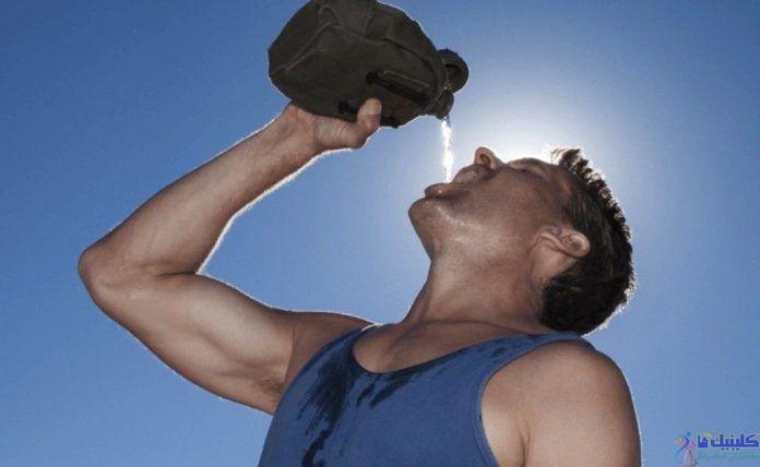 کم شدن آب بدن