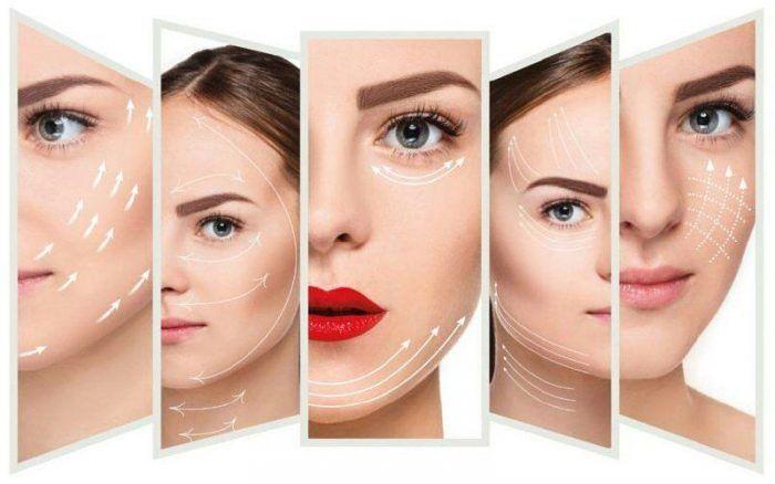 لیفت با نخ کاگ یا خاردار یا pdo برای رفع افتادگی و شلی صورت با اثر فوری