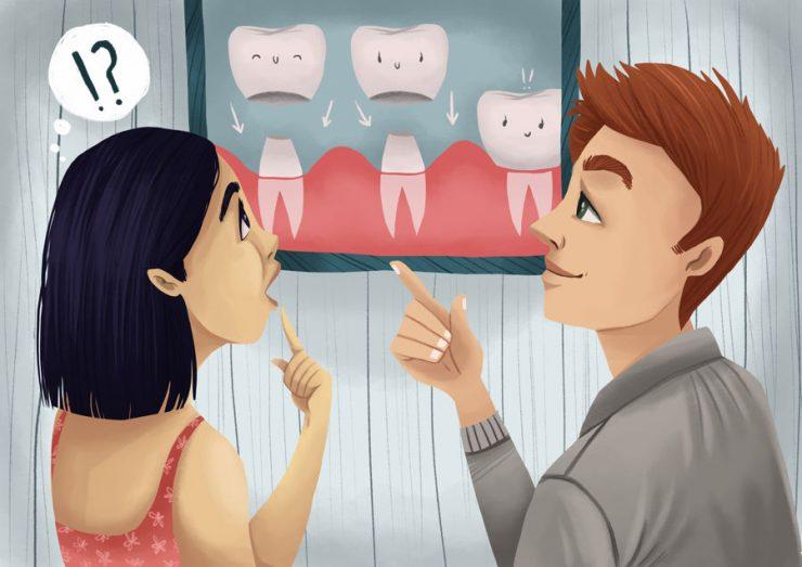 روکش دندان یا تاج دندان چیست: مراحل، انواع، مراقبت ها و مشکلات