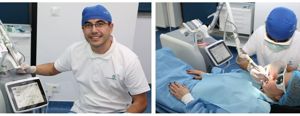 رفع پوسیدگی دندان و تشخص هوشمند آن با لیزر دندانپزشکی