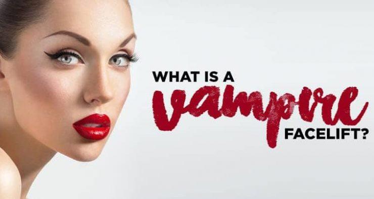 فیس لیفت ومپایر یا لیفت صورت خوناشامی: آن چه که باید بدانید