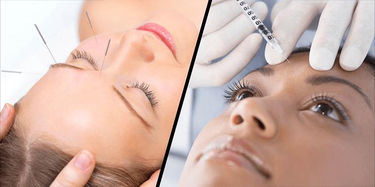 آیا طب سوزنی صورت میتواند جایگزین بوتاکس برای جوانی پوست باشد؟